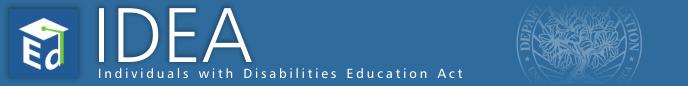 IDEA header and logo