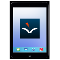 iPad with VoiceDreamer Reader App