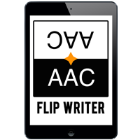 iPad with Flip Writer App