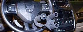 Steering aid in car