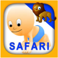 Animal and Tool Picture Flashcards for Babies