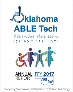 Oklahoma ABLE Tech 2017 Annual Report Cover