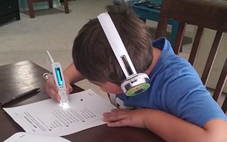 9 year old reads better with C-Reader Pen