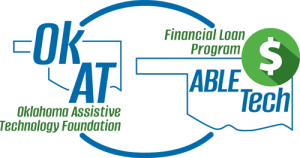 OkAT and Financial Loan Program logo