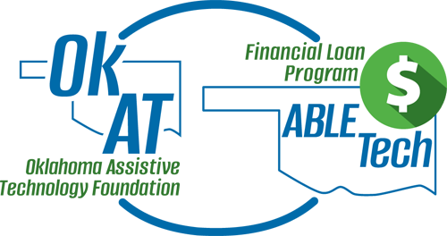 OkAT and Financial Loan Program logo