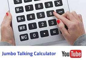 Jumbo talking Calculator Video