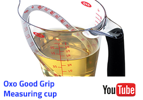 Oxo Good Grip Measuring Cup Video