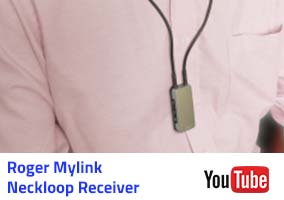 Phonac Roger Mylink Neckloop Receiver Video