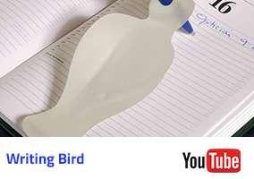 Writing Bird Video
