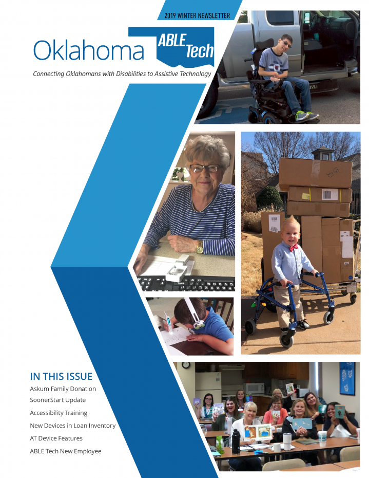 ABLE Tech Feb 2019 Newsletter cover