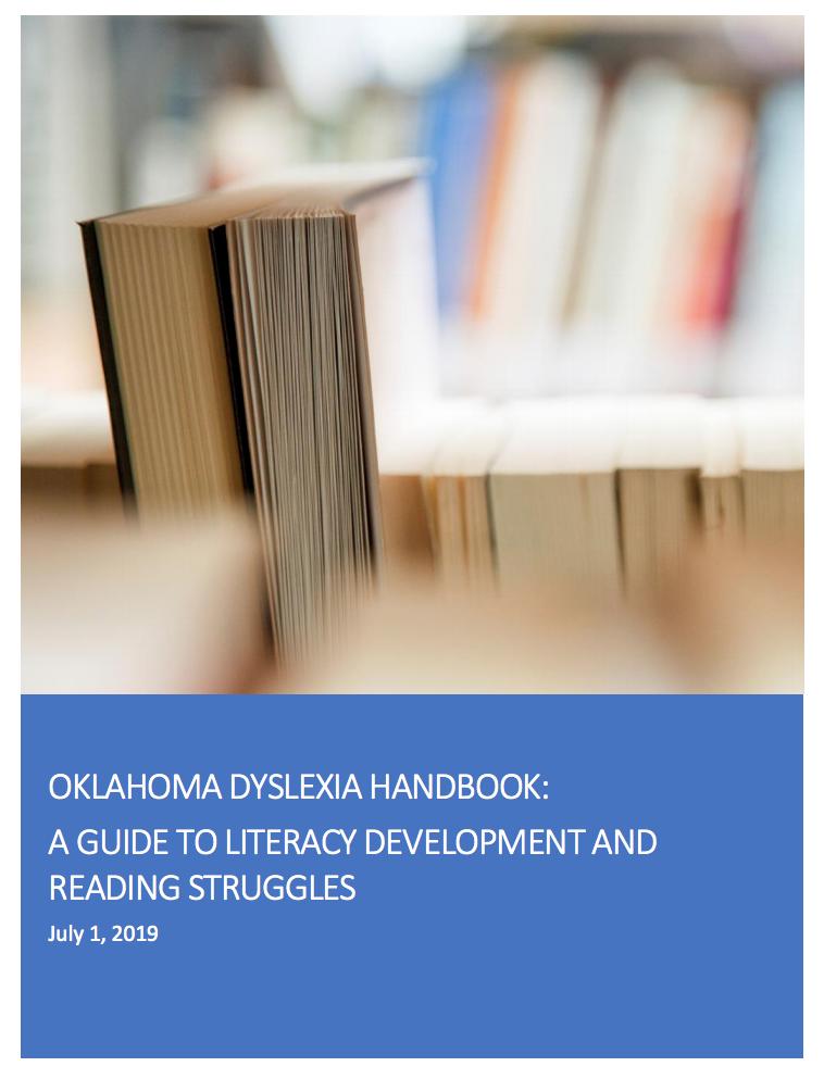 Dyslexia Handbook cover