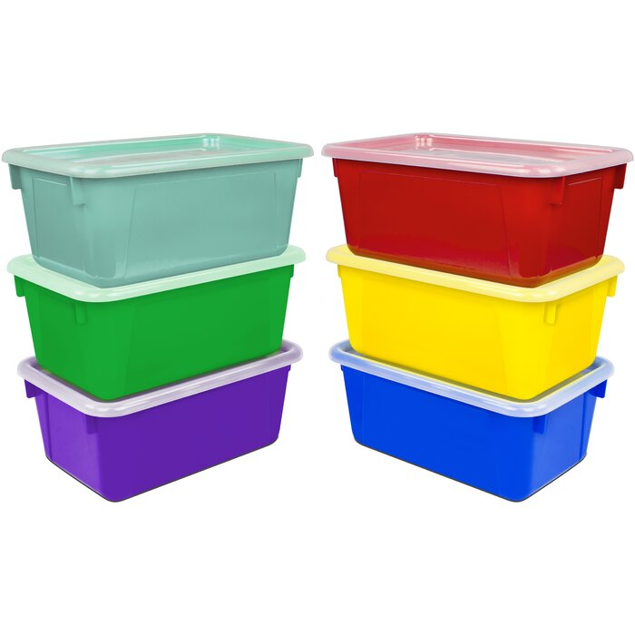 Color-Coded Bins