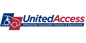 United Access blue and red logo