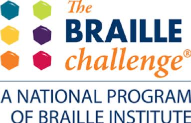 The Braille Challenge logo