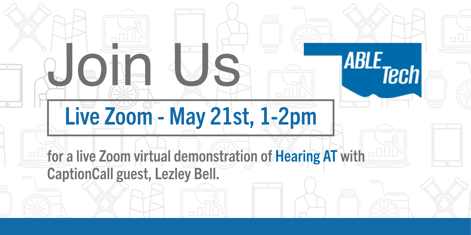 May 21 Tech Thursday Hearing AT