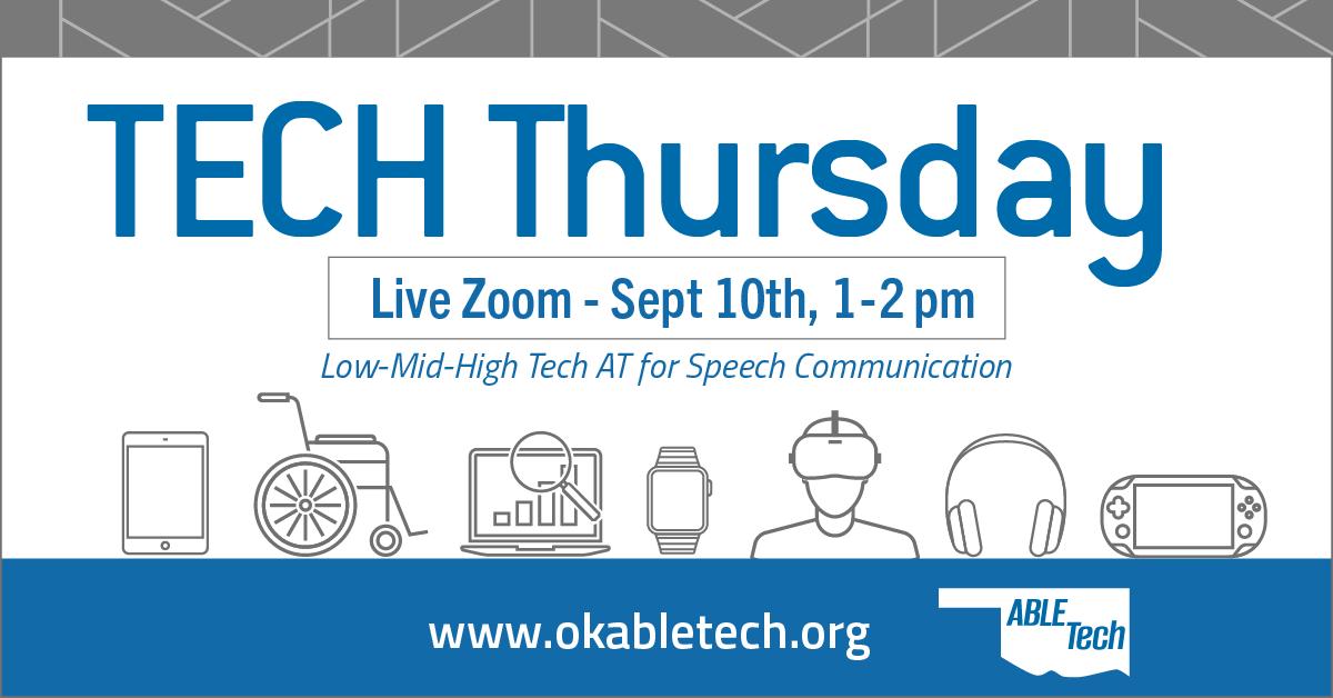 Tech Thursday Sept 10th