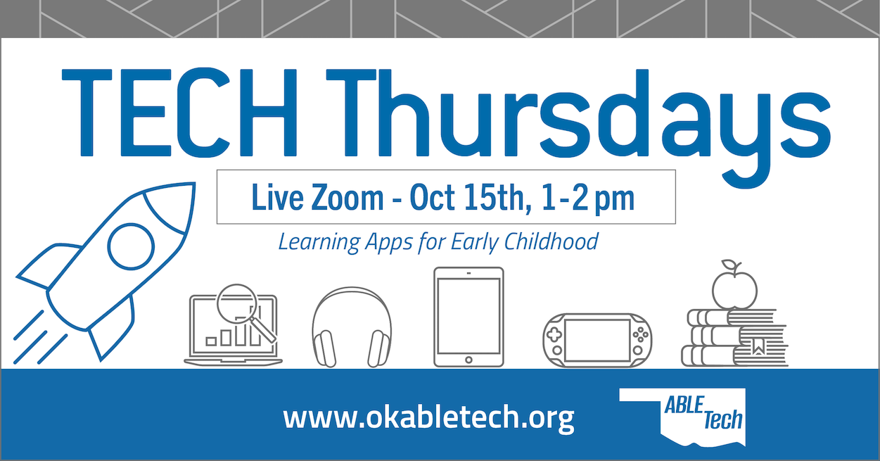 Tech Thursday: Learning Apps for Early Childhood @ Online Workshop