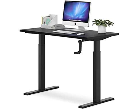 adjustable crank desk